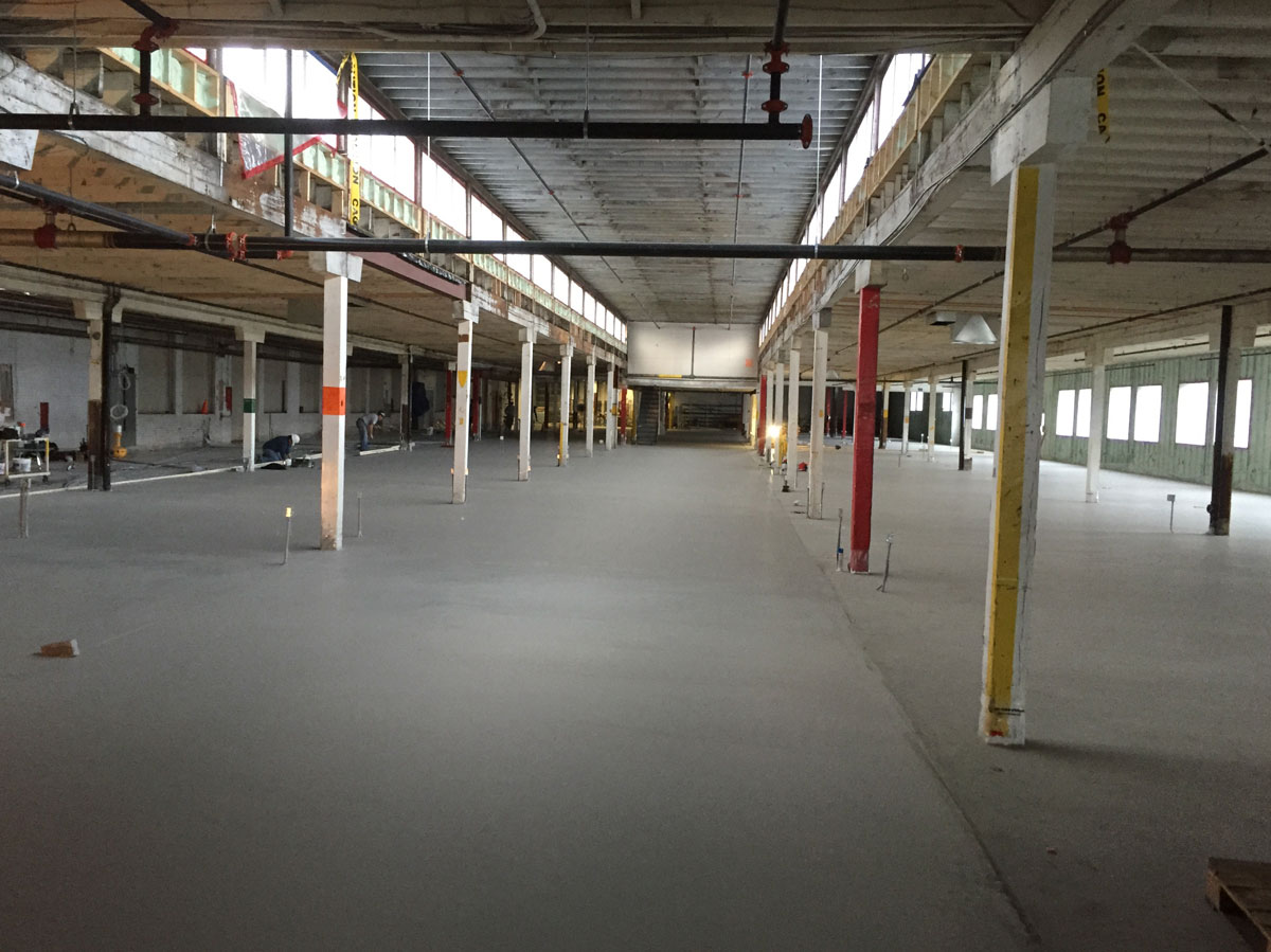 Concrete floor tek services for Concrete flooring service