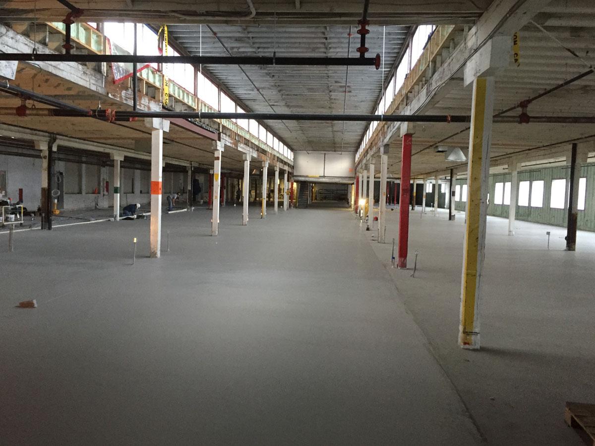 Concrete floor tek services for Concrete flooring service